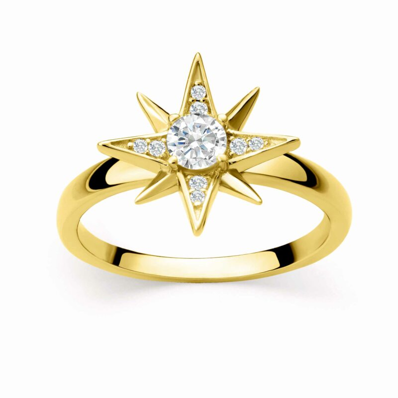 Shiny Star Ring